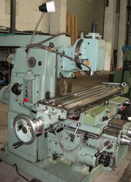 Vertical Milling Machine Stanko 6 R 82 1982