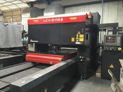 2D Laser AMADA LCV2412B 1994