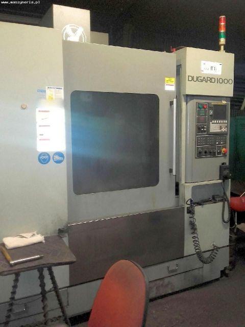 Centrum frezarskie pionowe CNC EAGLE DUGARD 1000 VMC 2011