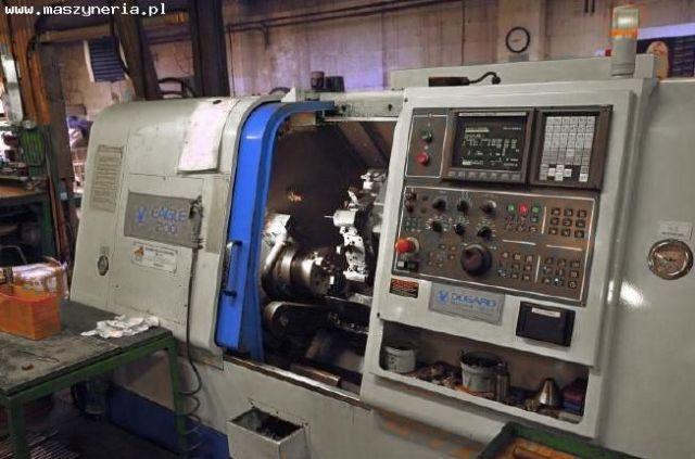 Tokarka CNC DUGARD EAGLE 200 FCL 200 HT 2005