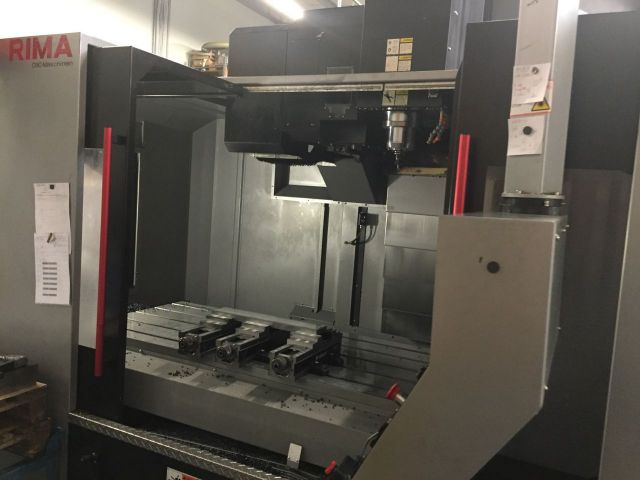 CNC Vertical Machining Center Wele / Toyoda AA1680 VF1680 2012