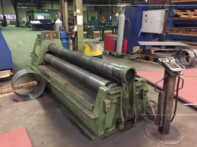 3 roll plate bøying maskin ROUNDO PS 205 1990