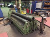 3 Roll Plate Bending Machine ROUNDO PS 205