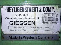Tornio pesante Heyligenstaedt ND 560 1968-Foto 8