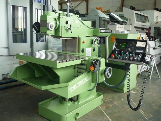 cnc milling machine deckel maho fp 4 nc