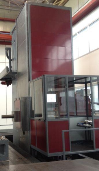 Horizontal Boring Machine Nuova Alesatrice Montante Mobile 160 160 CNC 2017