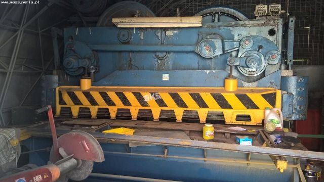 Mechanical Guillotine Shear ZAMECH NG 13 1980