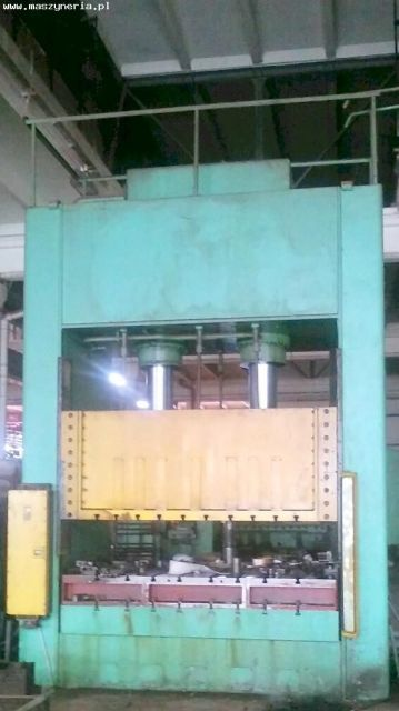 H Frame Hydraulic Press HYDRAULICO 400/240 Mp 1976