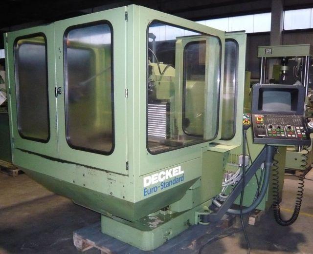 Horizontales CNC-Fräszentrum DECKEL FP 4 A NC 1992