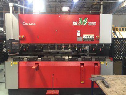 CNC Hydraulic Press Brake AMADA RG M2 1003 2010
