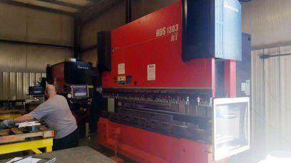 CNC Hydraulic Press Brake AMADA HDS-1303NT 2013