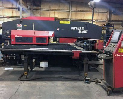 Turret Punch Press AMADA VIPROS III 3510 NT 2004