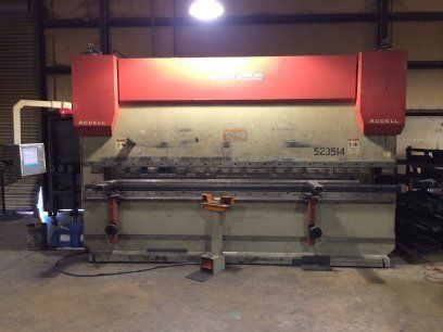 CNC Hydraulic Press Brake ACCURPRESS ACCELL 523514 2006
