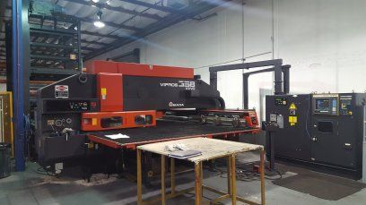 Turret Punch Press AMADA VIPROS 358 KING 1997