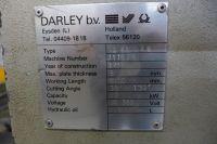 Mechanical Guillotine Shear DARLEY GS 6000 1989-Photo 3