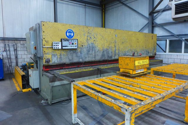 Mechanical Guillotine Shear DARLEY GS 6000 1989