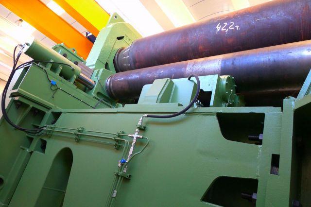 4 Roll Plate Bending Machine VERRINA CL 3 1974