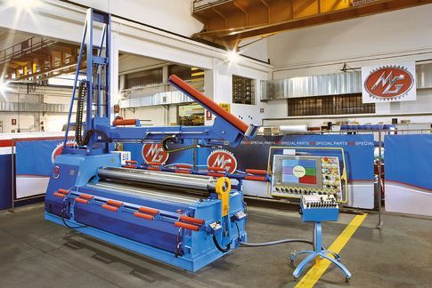 Folding Machines for sheet metal MG гибочные вальцы 4-валковые станки типа MH 2017