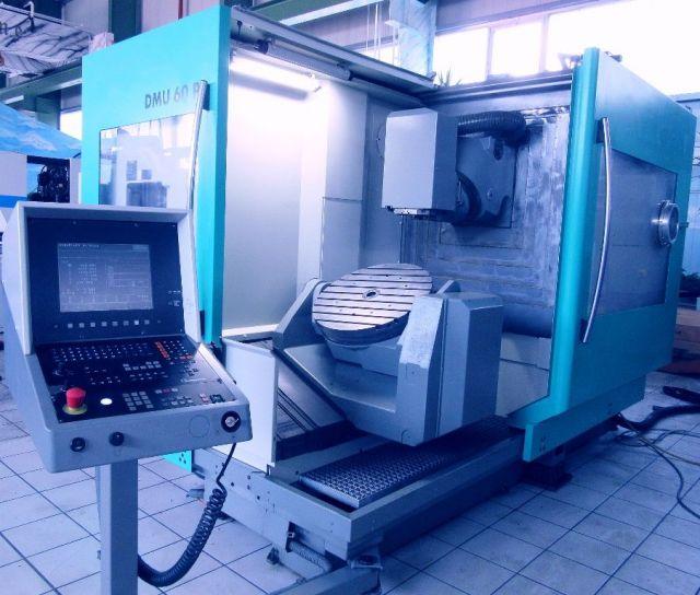 Vertikal CNC Fräszentrum DMG DMU  60  P 1997