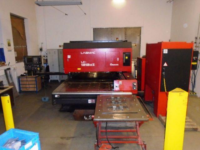 Machine de découpe laser 3D AMADA LC-1212 ALPHA 1998