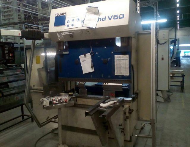 Prasa krawędziowa hydrauliczna CNC TRUMPF V 50 2000
