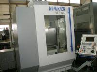 Vertikal CNC Fräszentrum MIKRON VCP 600 WZW