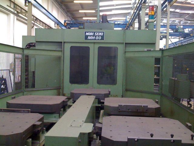 CNC数控卧式加工中心 MORI SEIKI MH-80 1991