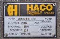 Punching Machine HACO OMATIC 130 DTRH 2006-Photo 9
