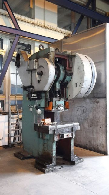 C Frame Hydraulic Press SMERAL LEPA 100 VA 1985