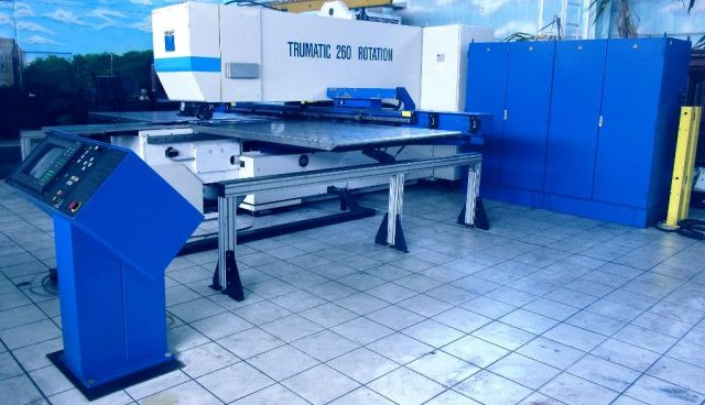 Stanzmaschine TRUMPF TRUMATIC  TC  260  R  Rotation 1991