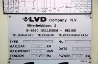 Prasa krawędziowa hydrauliczna CNC LVD PPEB 80/25 CAD 1999-Zdjęcie 15
