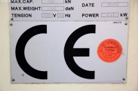 Prasa krawędziowa hydrauliczna CNC LVD PPEB 80/25 CAD 1999-Zdjęcie 16