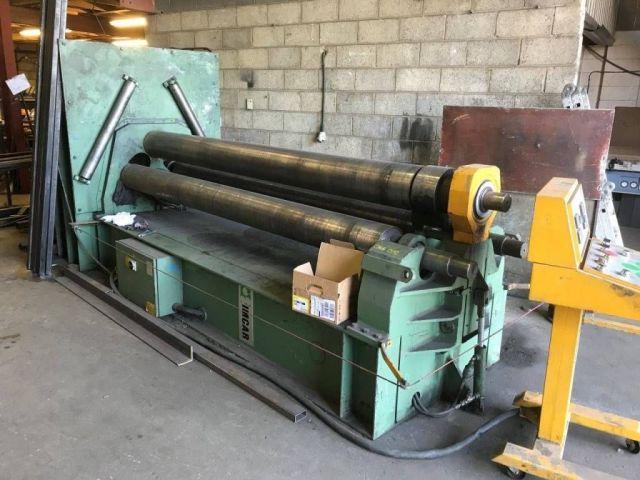 3 Roll Plate Bending Machine IMCAR S1HRV 10.3 1997