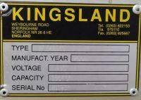 Prasa krawędziowa hydrauliczna CNC KINGSLAND KPE 40150 2001-Zdjęcie 3