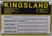 Hydraulische Abkantpresse CNC KINGSLAND KPE 40150 2001-Bild 3
