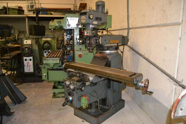 Vertical Milling Machine LAGUN FTV-4 1990