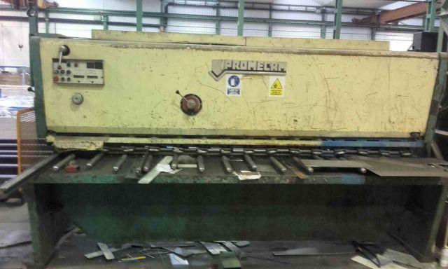 Hydraulic Guillotine Shear PROMECAM 3000x10 1990