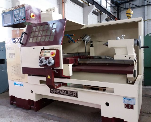 CNC strung CHEVALIER FCL 1840 F 1998