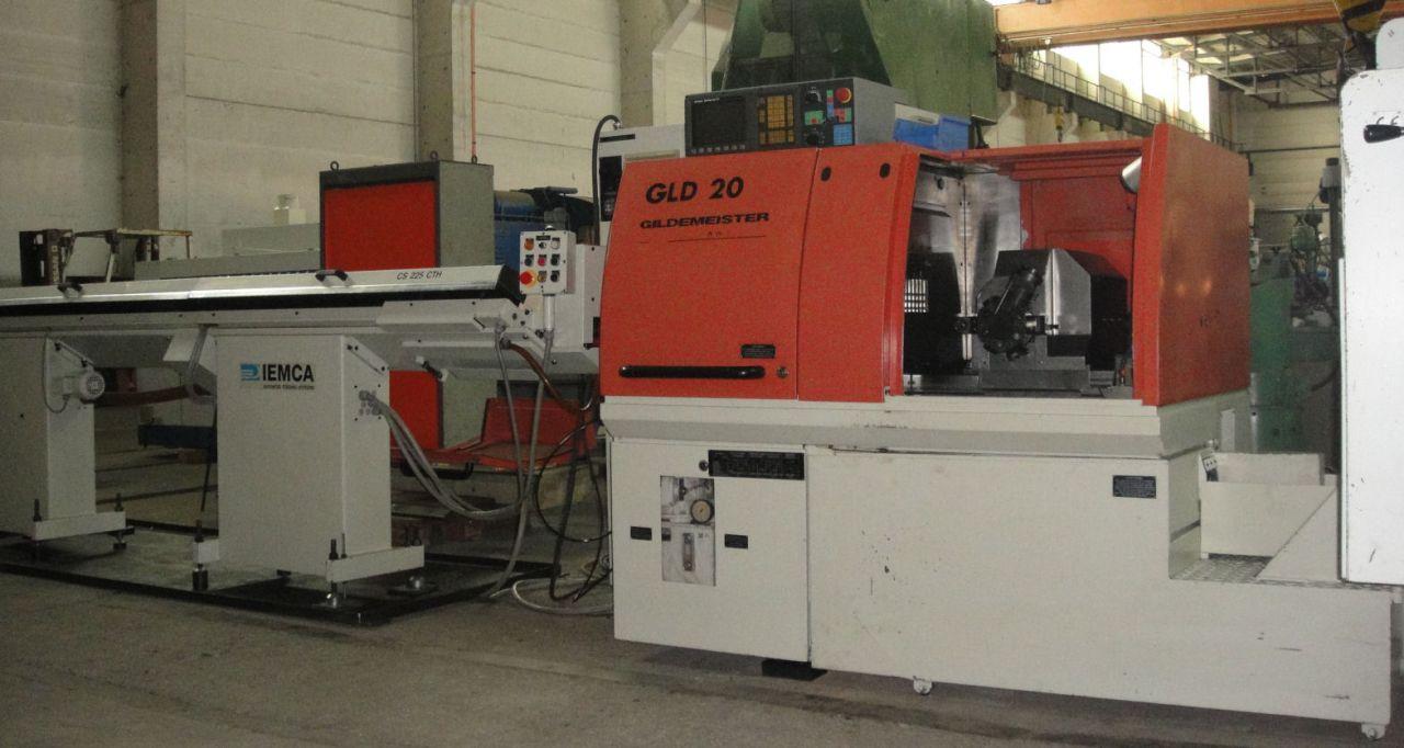 Świeże Automat tokarski CNC Gildemeister GLD 20-5A YW77