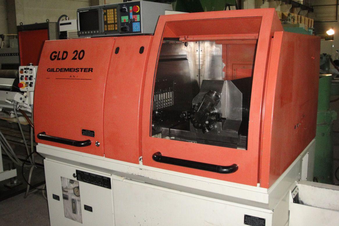 Inteligentny Automat tokarski CNC Gildemeister GLD 20-5A ZW01