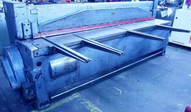 Mechanical Guillotine Shear RAS 2500 / 3  KM 1963