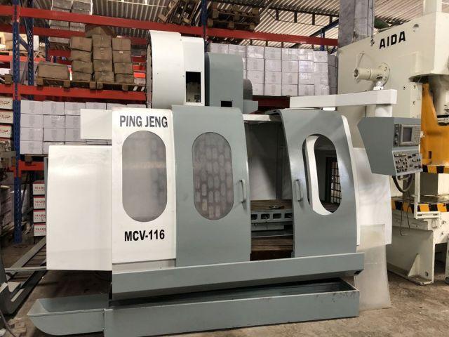 CNC Vertical Machining Center 0713 PING JENG TAIWAN MCV-116 2004