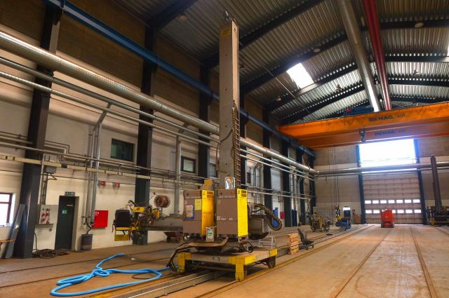 Seam Welding Machine ESAB CAB 460 2002