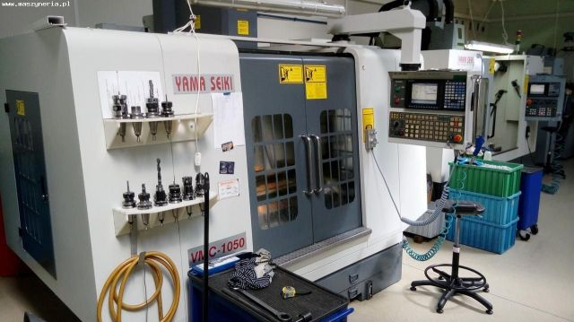 CNC Vertical Machining Center YAMA SEIKI VMC 1050 2008