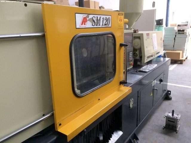Plastics Injection Molding Machine ASIAN PLASTIC MACHINERY SM 120 2001