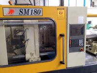 Kunststof spuitgietmachine ASIAN PLASTIC MACHINERY SM 180