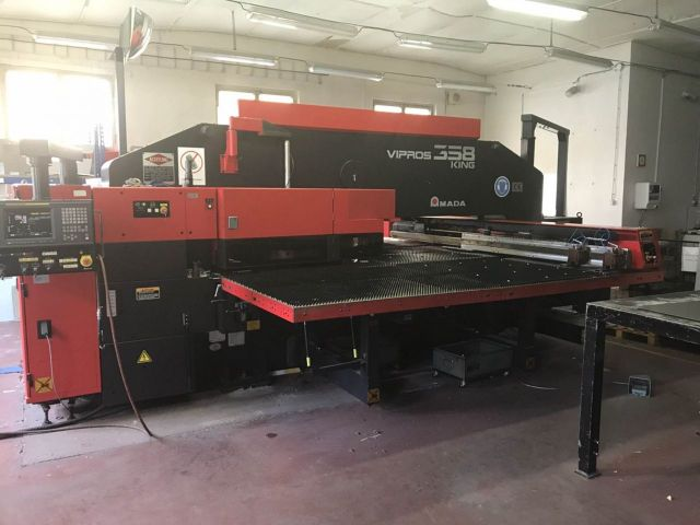 Turret Punch Press AMADA Vipros 358 King 2002