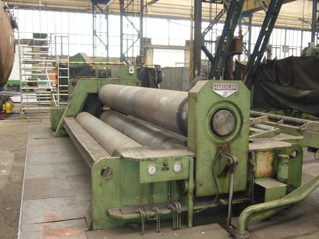 4 Roll Plate Bending Machine HAEUSLER VRM-HY 1983