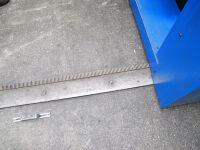 Nożyce gilotynowe hydrauliczne IMEX AS 6150 - 4 / wie NEU 2008-Zdjęcie 4
