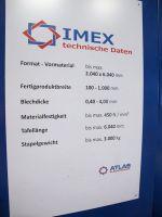 Nożyce gilotynowe hydrauliczne IMEX AS 6150 - 4 / wie NEU 2008-Zdjęcie 7